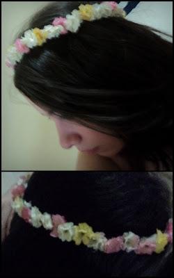 DIY - Coroa de Flores da Megurine Luka BELLE