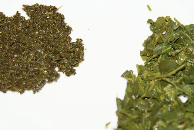 thé de basse qualité