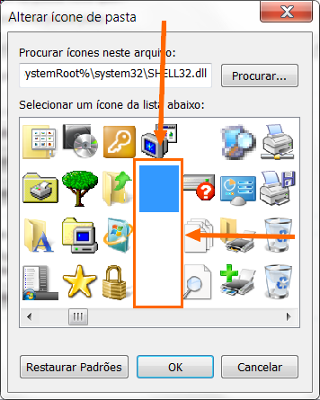 deixar meus documentos invisiveis windows