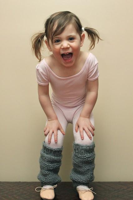 Little Girls Knit Leg Warmers