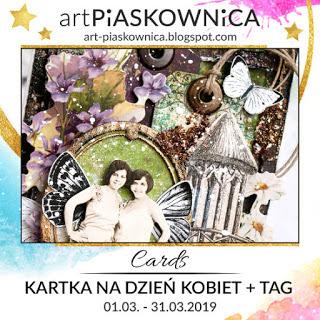 Artpiaskownica_carta y etiqueta para el Día de la Mujer