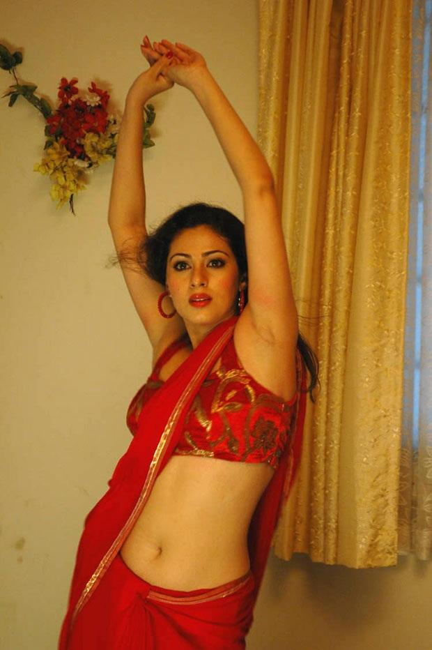 Tamil Actress Sadha Hot saree Photo | Indian spicy actress photos