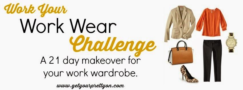 http://getyourprettyon.com/work-wear-challenge-2014/