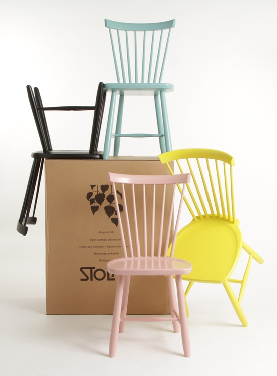Lille Lykke This spring pastel chairs for all