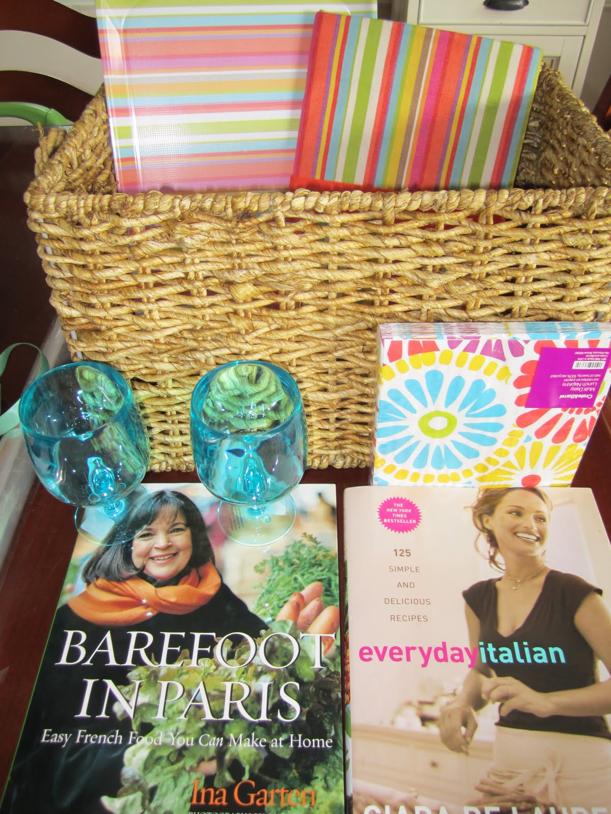 ... and Home: Bridal Shower Gift Idea: International House of Picnics
