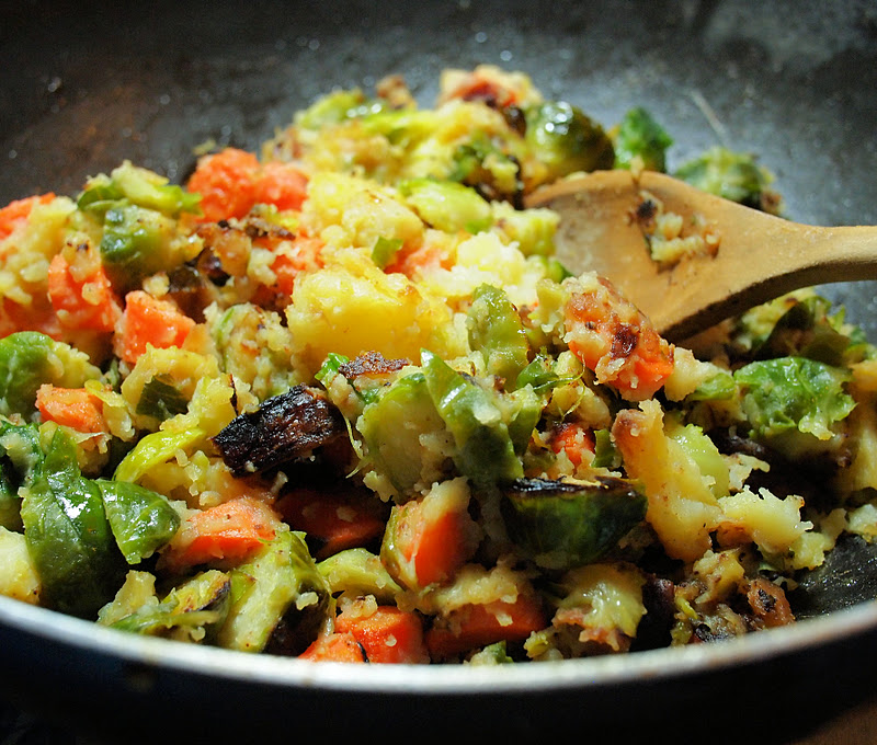 The Ultimate Leftovers Feast ~ Bubble and Squeak