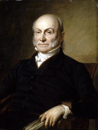 John quincy adams bill leveridge