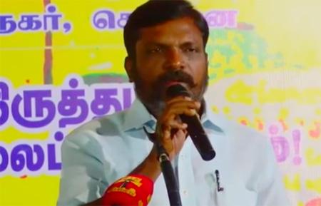 Thol.Thirumavalavan Amazing Speech on LTTE Prabakaran