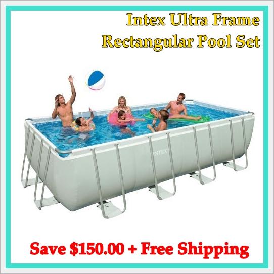 Shirlene Grinnell\'s blog: Intex 18\' Ultra Frame Pool