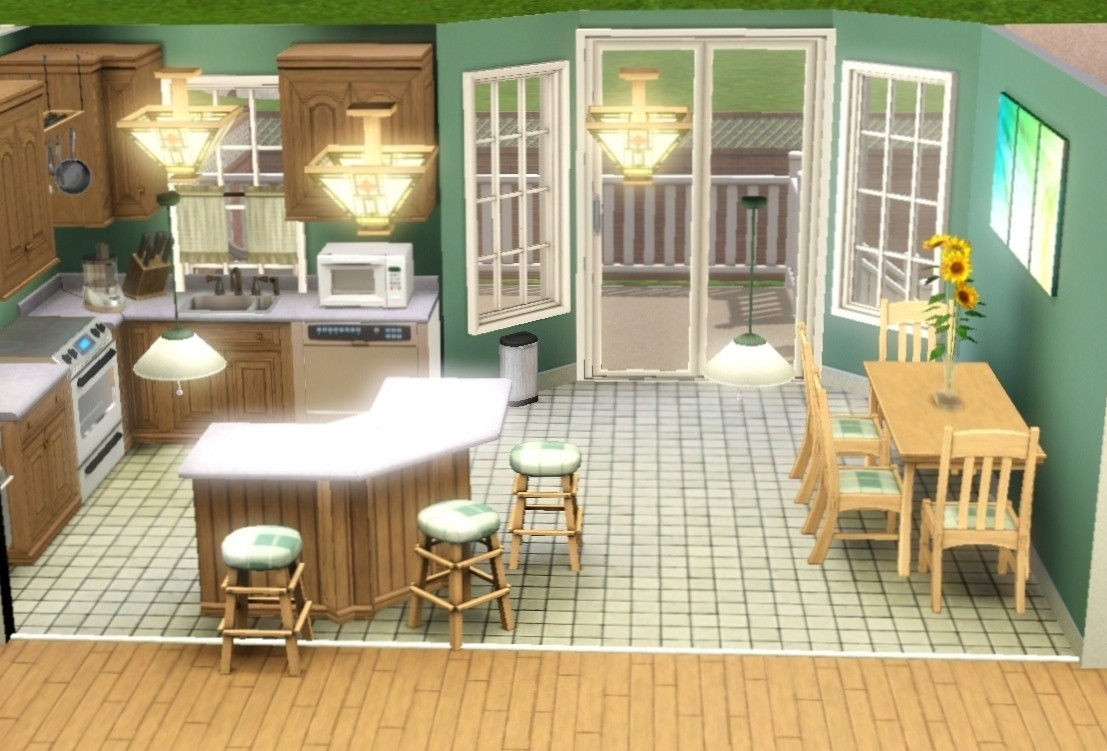 My sims 3 blog new houses by iins0mniia for Case the sims 3 arredate