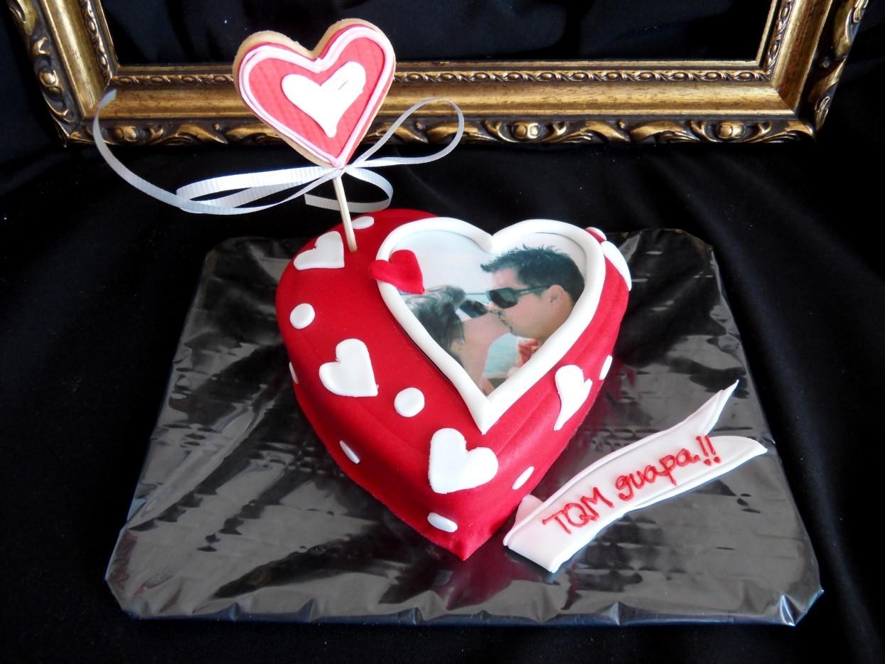 Dulces Placeres tartas: San Valentín 2013.2