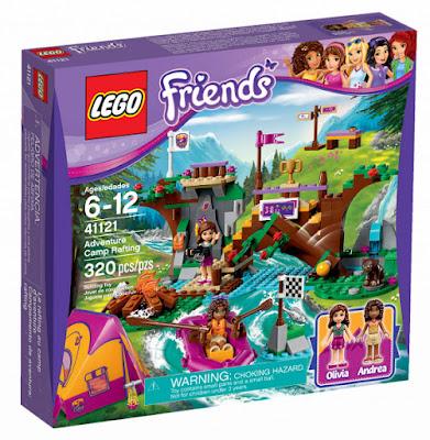 TOYS : JUGUETES - LEGO Friends  41121 Campamentos de Aventura : Rafting  Adventure Camp Rafting  Producto Oficial 2016 | Piezas: 320 | Edad: 6-12 años  Comprar en Amazon España & buy Amazon USA