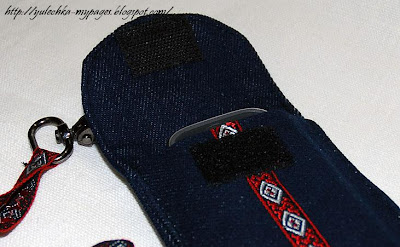 Чехол для телефона фото из джинса 136