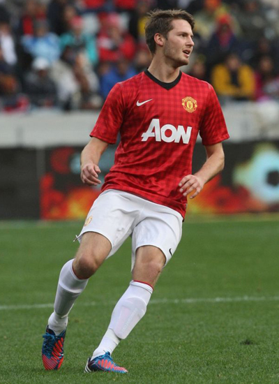 Nick Powell Manchester United, Powell 2012-2013