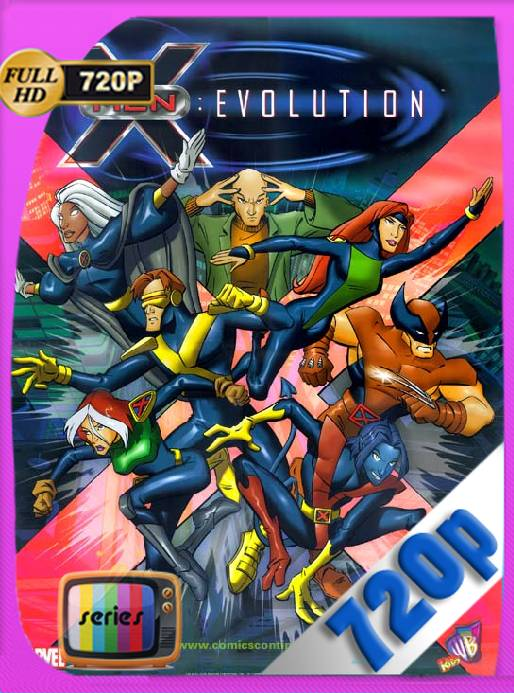 X-Men: Evolution (2000) Temporada 1,2,3,4 [720p] [Latino] [GoogleDrive] [RangerRojo]