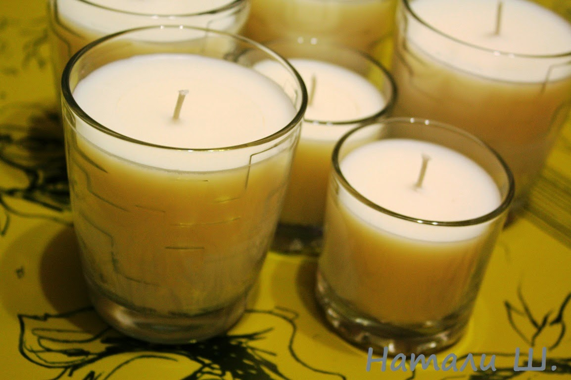 Соевая свеча