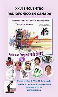 XXVI Encuentro radiofónico en Canadá