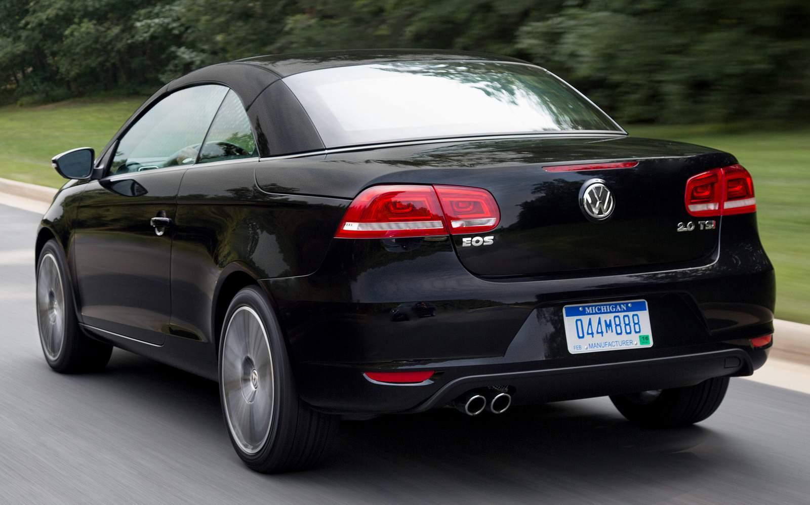 2015 Volkswagen EOS Final Edition