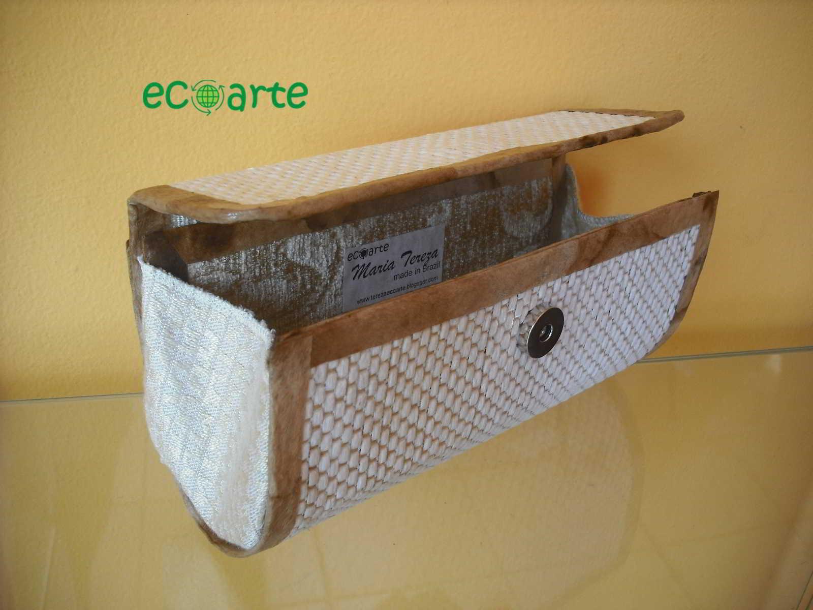 Bolsa festa caixa de leite : Bolsas de caixas leite carteiras revestidas com