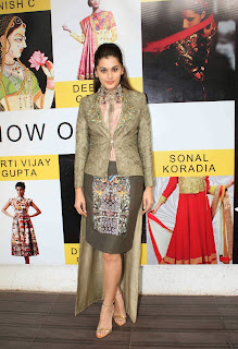 Actress Taapsee Pannu  Picture Gallery at DVAR Fashion Preview  10