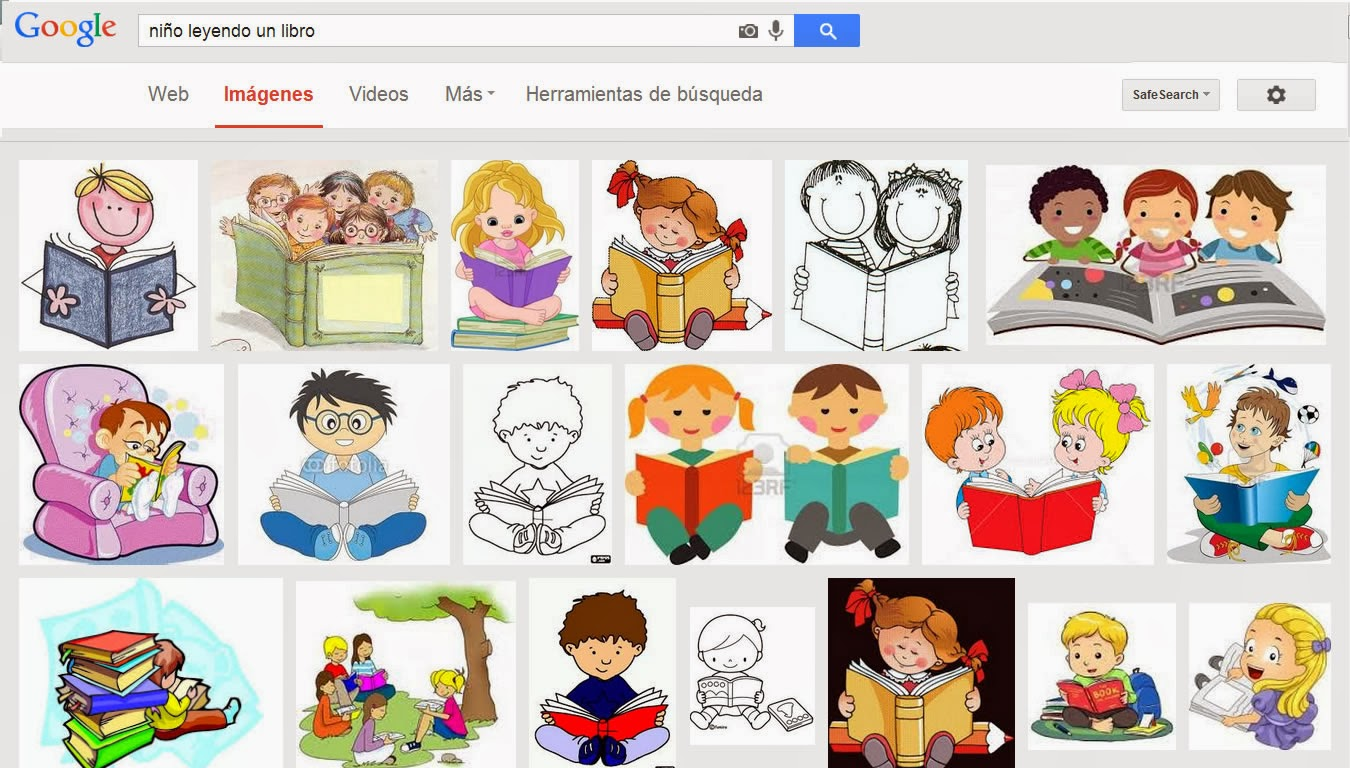 Tiempo Mejicano.: Niños leyendo.