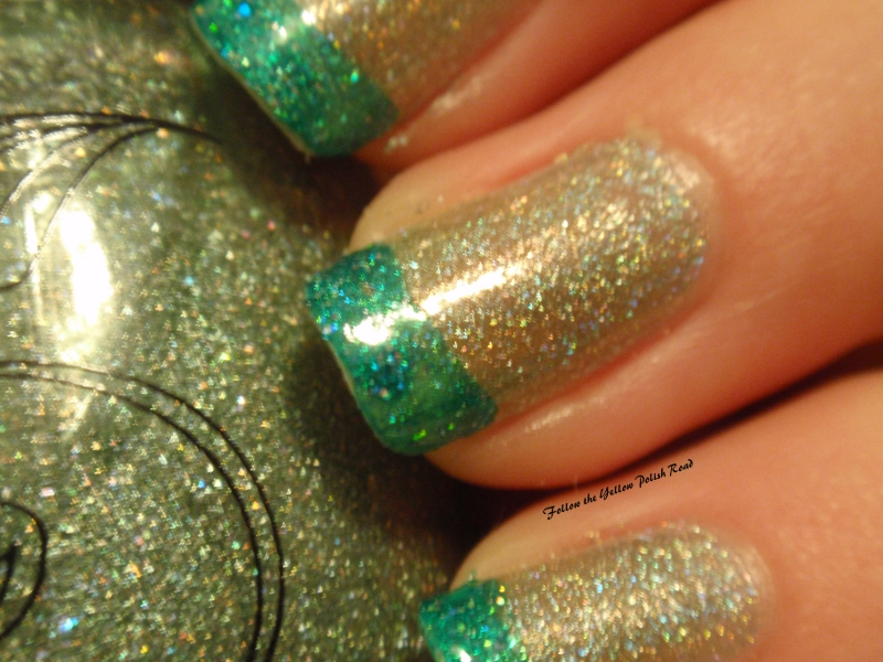 The Fascinating Glitter nail design to do at home Picture