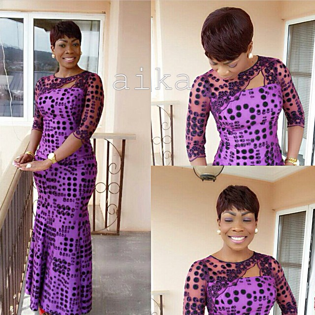 Creative Ankara Long Gown Design Dezango Fashion Zone