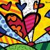Romero Britto, arte graffi-cubi-pop-ular