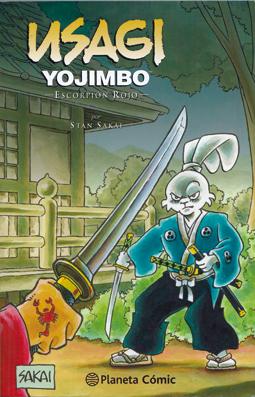 Usagi Yojimbo. Escorpión rojo de Stan Sakai, edita Planeta Comic. Ronin Samurai. Japón Periodo Edo