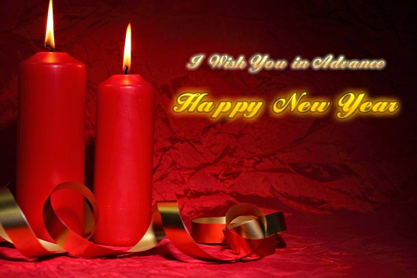 Beautiful Happy New Years Advance Wishes 2015 Cards Images