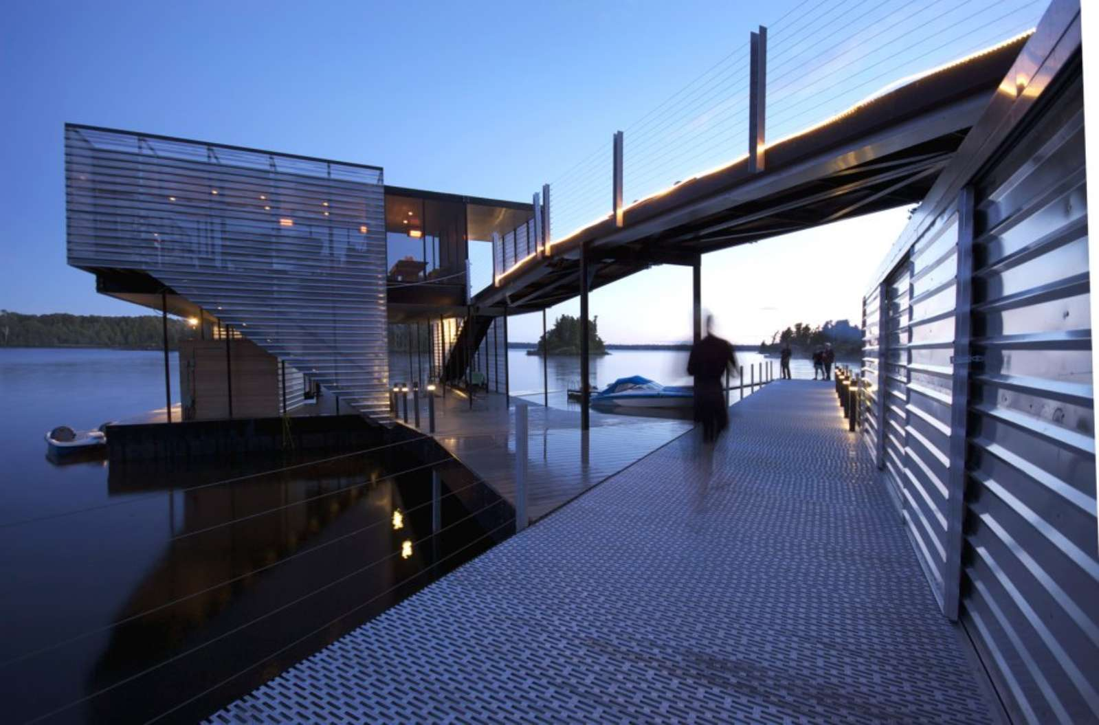 Boat House Architectural Detail : Guertin boatport by architecture