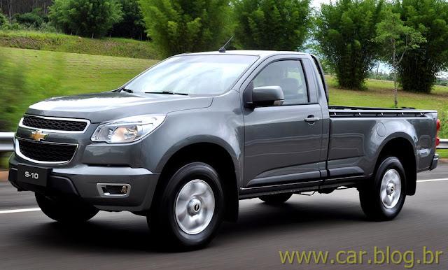 Nova Chevrolet S-10 2012: vídeos dos comerciais e ficha técnica
