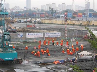 Tiến độ thi công dự án chung cư Trần Duy Hưng