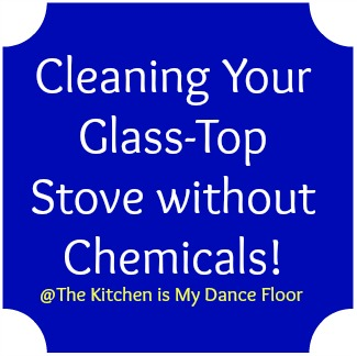how to keep glass stove top clean