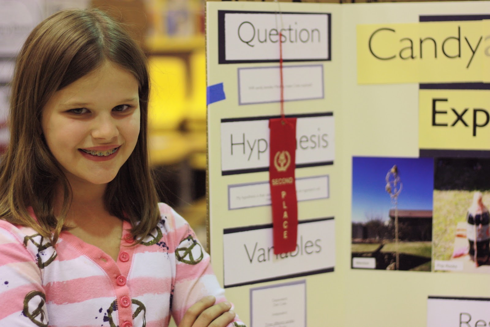 ... 5th Grade 1st Place First grade science Science Fair Projects For 5th