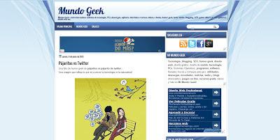 Nuevo diseño Mi Mundo Geek 2013