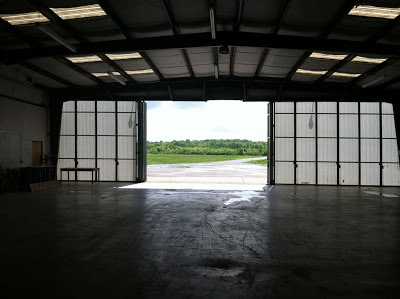 Cornelia Fort Airpark hangar East Nashville