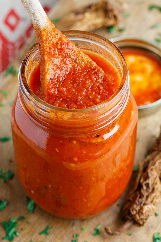 Enchilada Sauce on Closet Cooking