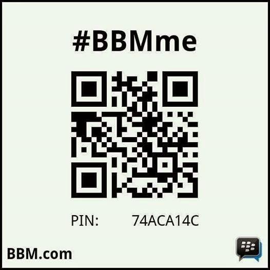 PIN BBM Saya :  7ACA14C
