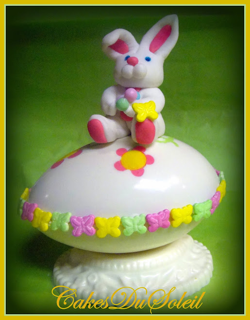 Just in time for your Easter Celebration, an Easter Bunny with Sweet Treats!