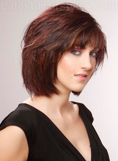 Hairstyles For Short Hair Length : Daily She Book: 10 Cute Short Chin Length Hairstyles 2013
