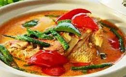 RESEP Masakan SUP Ikan Gurame Asam Pedas Enak