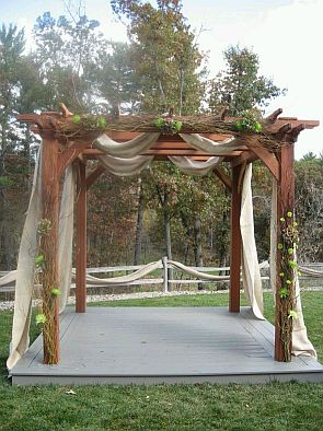 Wedding decoration outdoor wedding decoration pergola are in an outdoor wedding and likewise the decor is quite simple junglespirit