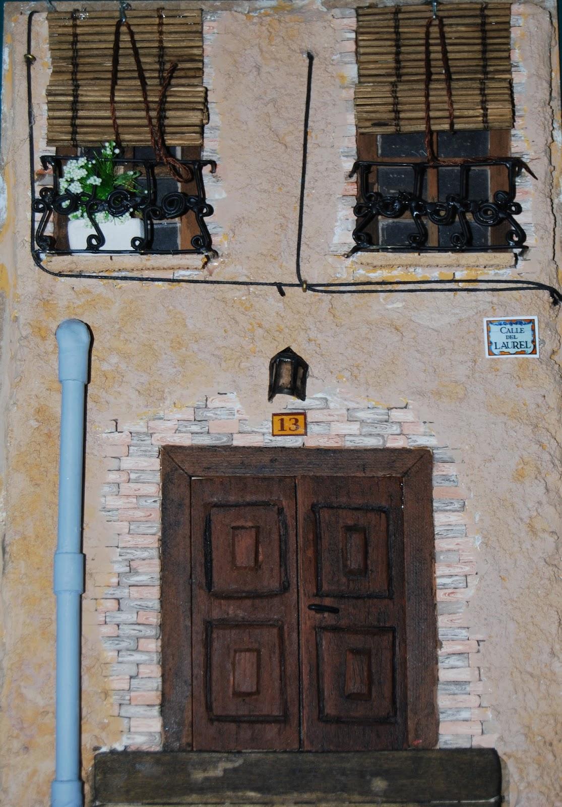 Mis peque as obras de arte mis manualidades for Fachada casa clasica