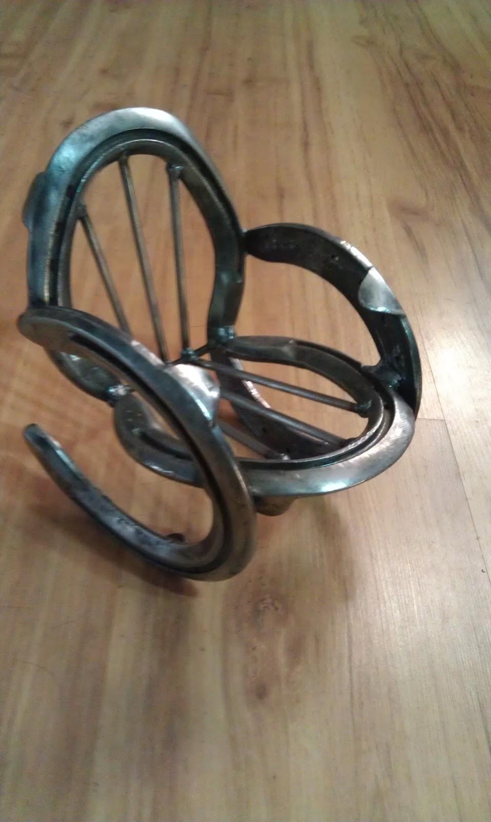 Homeschooling horses motocross horseshoe art for Horseshoe crafts for sale