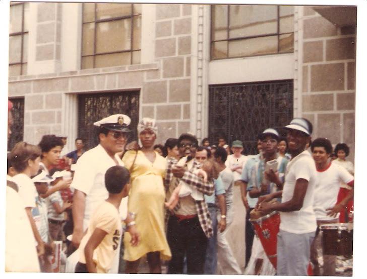 César Rivera - Panamá - Carnavales - Año 1985