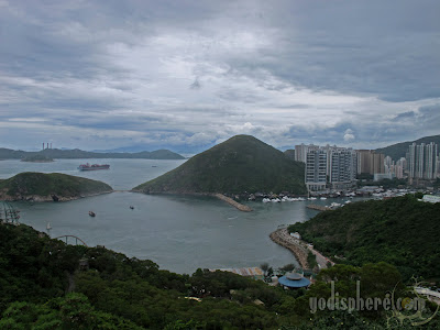 Hong Kong Ocean Park Mountain View