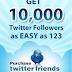 طريقة شرح زيادة عدد المتابعين في التويتر لاكثر من 300متابع مجانا