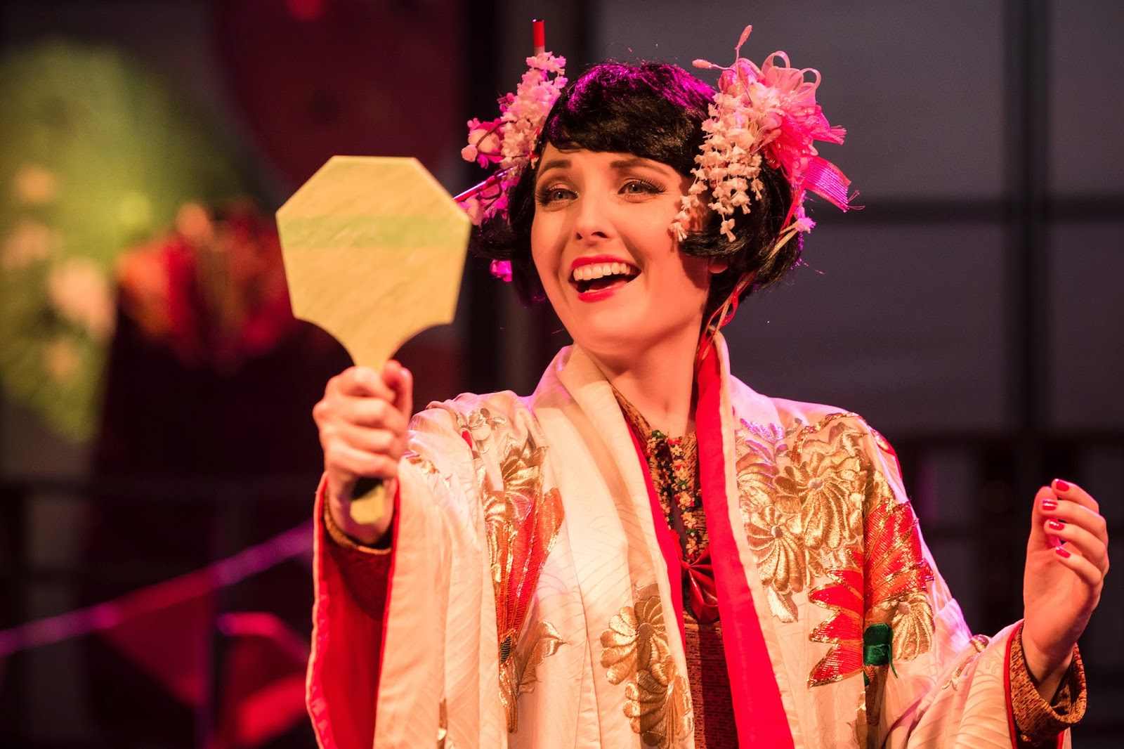 The Mikado - Charing Cross Theatre - photo credit Scott Rylander