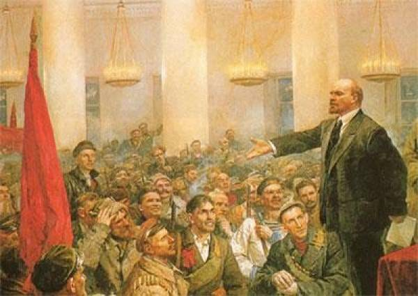Lenin and april thesis